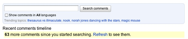 YouTube Comment Search