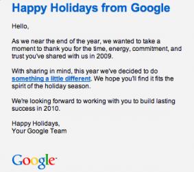 Google regalo