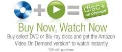 Amazon DVDs promo