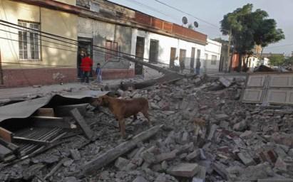 Daños del terremoto en Chile 0 - Vía @BNONews