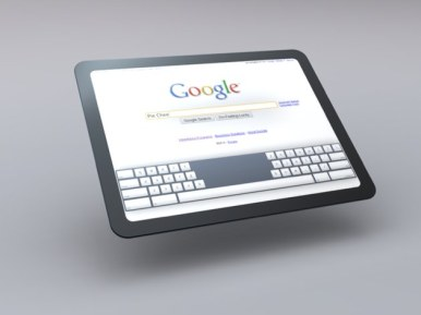 Tablet Chrome OS 3