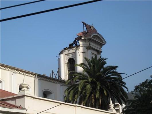 Daños del terremoto en Chile 5 - Vía @CastroJotaPe
