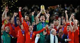 España victoria Mundial de Fútbol Sudáfrica 2010 1