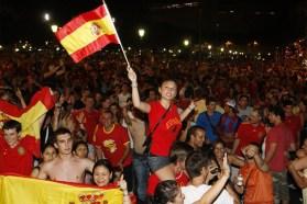 España victoria Mundial de Fútbol Sudáfrica 2010 2