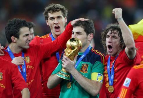 España victoria Mundial de Fútbol Sudáfrica 2010 3