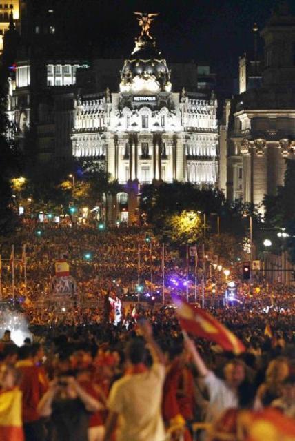 España victoria Mundial de Fútbol Sudáfrica 2010 10