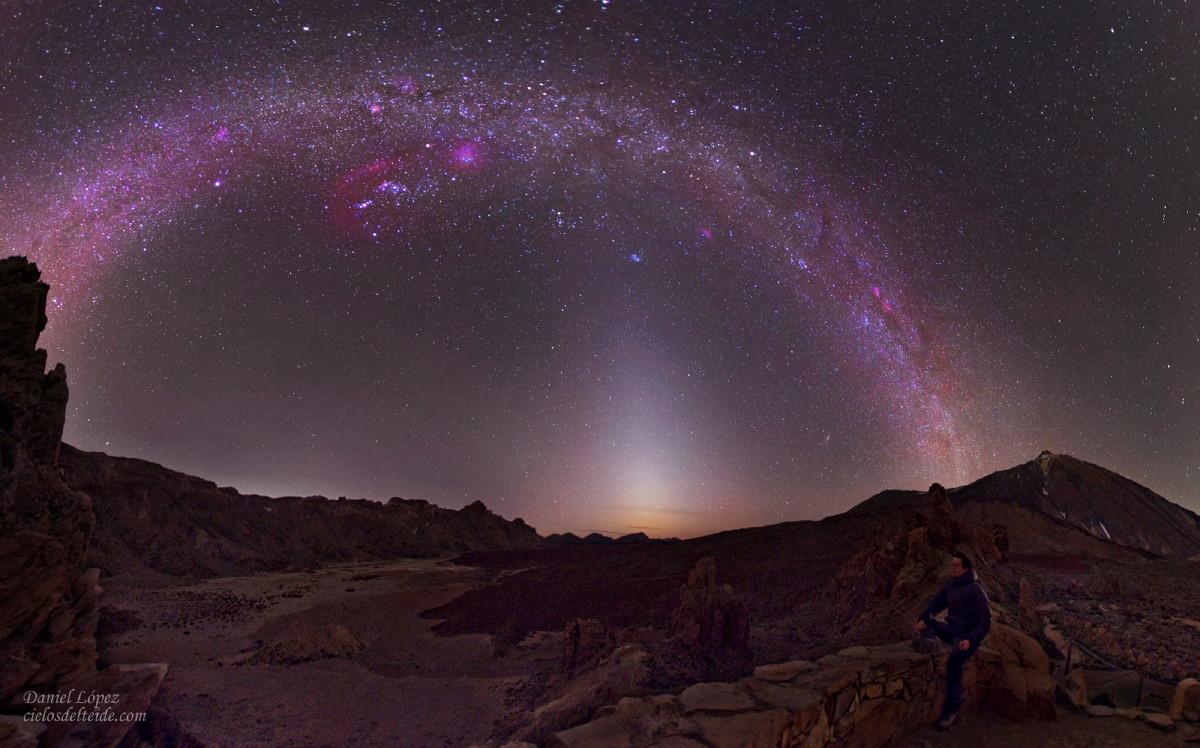 Luz Zodiacal / Vía Láctea