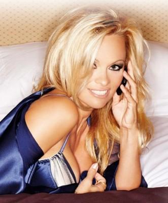Pamela Anderson Nokia