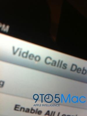 iPad debug videollamadas