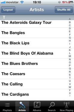 Lista iPhone