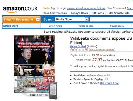 Wikileaks AmazonUK