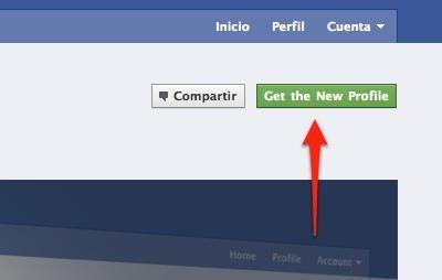 Obtener el nuevo perfil de Facebook