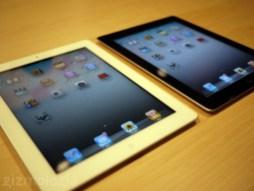 iPad 2 blanco y negro