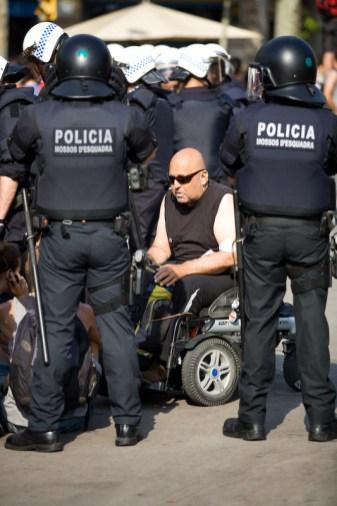 Desalojo acampada Barcelona 11