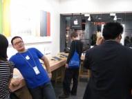 Empleados de la Apple Store de Kunming