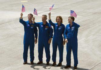Tripulación del Transbordador Espacial Atlantis