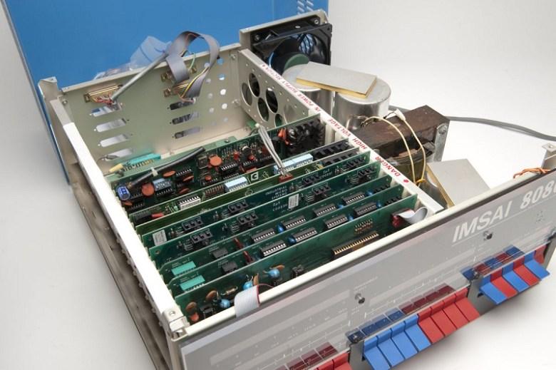 IMSAI 8080 interior