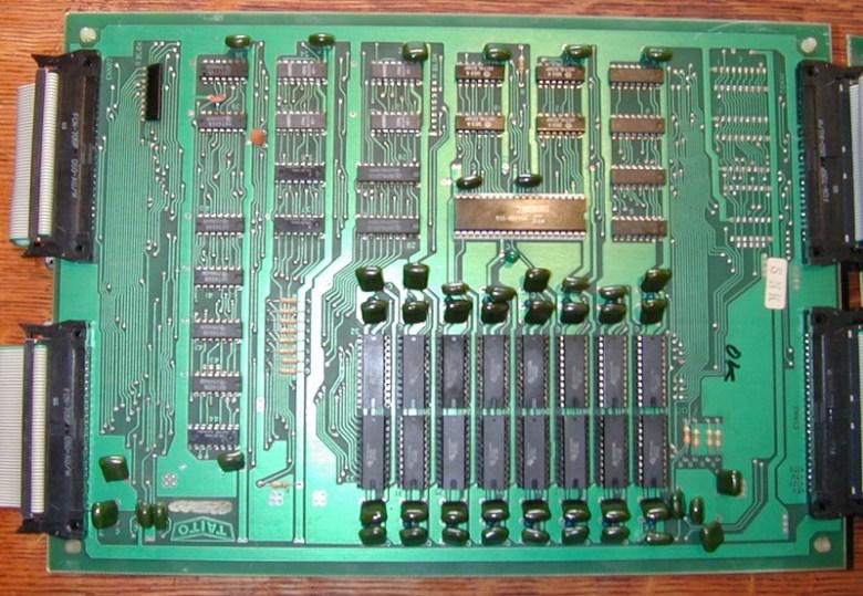 placa CPU Space Invaders