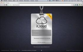 iCloud web Logging