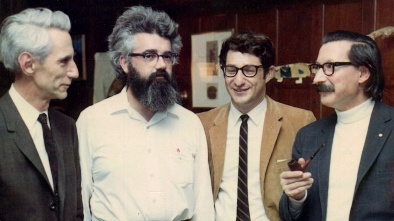 Mccarthy con Shannon, Ed Fredkin y Joseph Weizenbaum