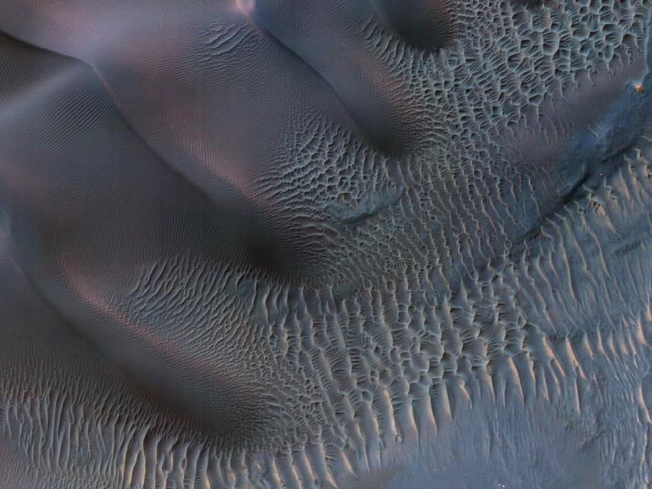 Dunas Marte - NASA/JPL-Caltech/Univ. of Arizona