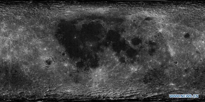 China mapa luna 3