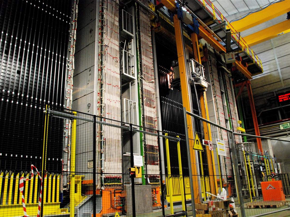 Gran Sasso - neutrinos