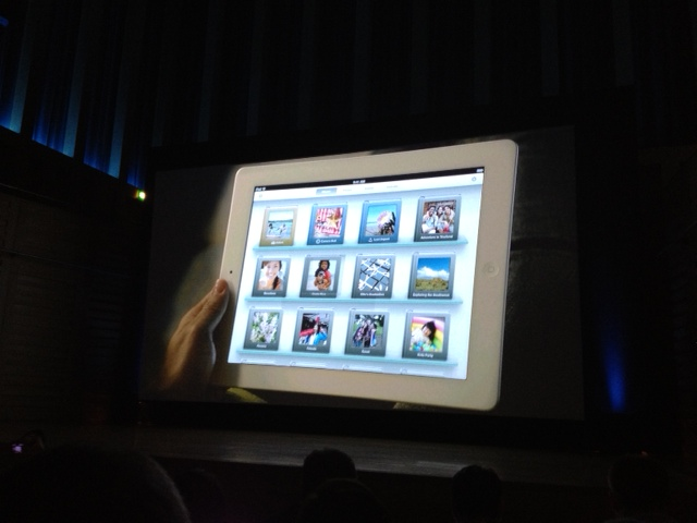 iPhoto en nuevo iPad