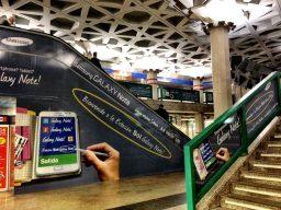 Escaleras Metro Sol