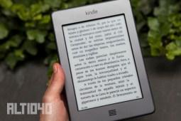Kindle Touch y su pantalla