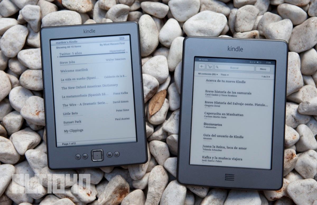 Kindle de Cuarta Generación y Kindle Touch - libros electrónicos gratuitos