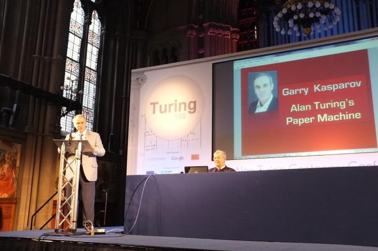 Alan Turing - Kasparov