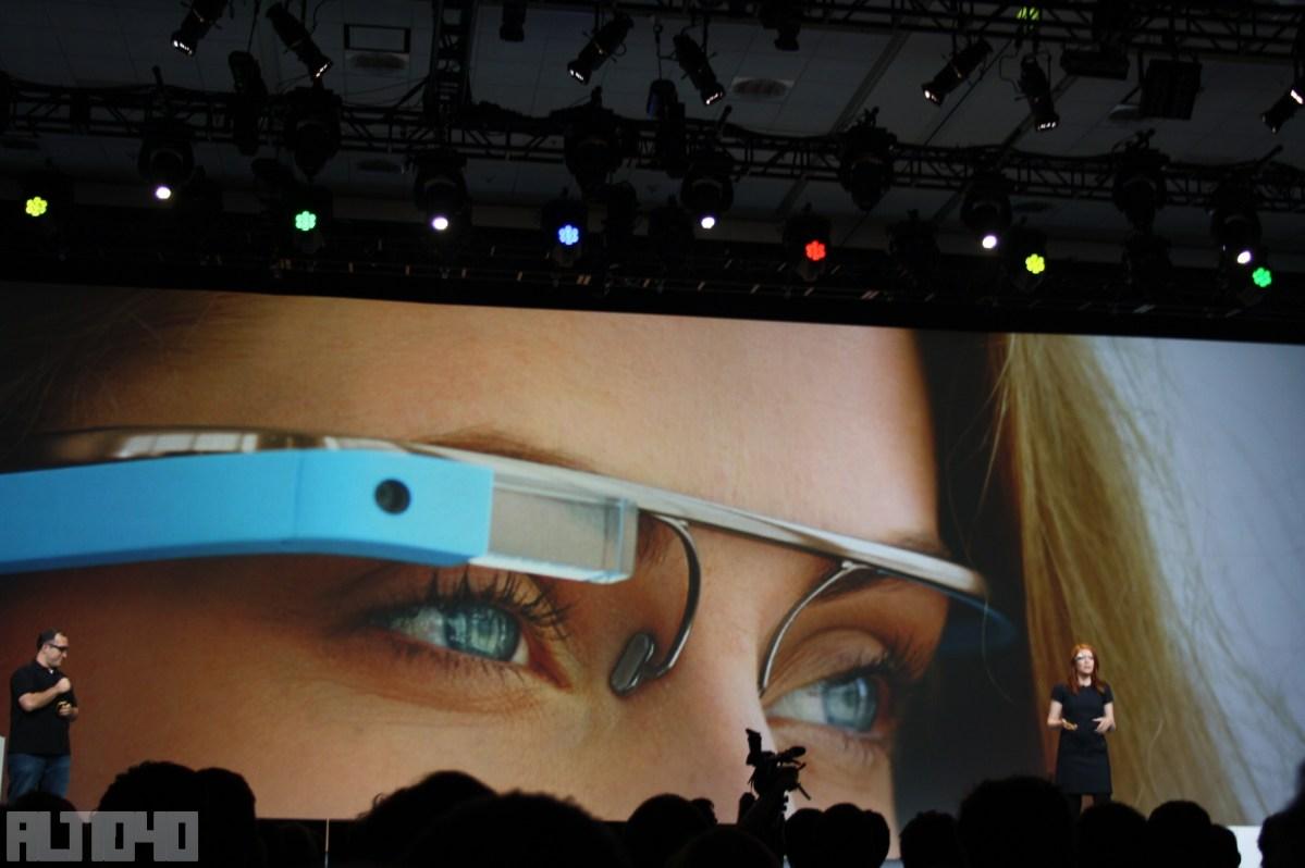 Google Glass en Google I/O 2012