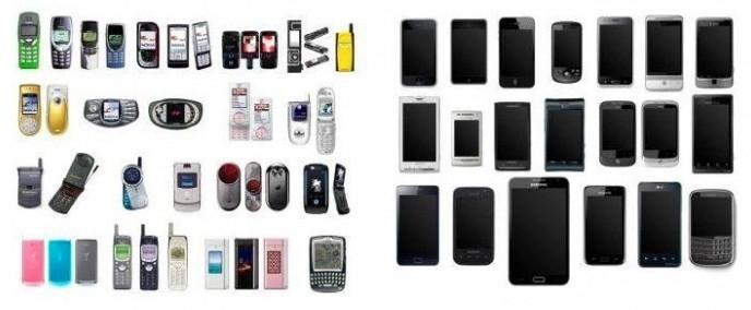 Los móviles antes y después del iPhone