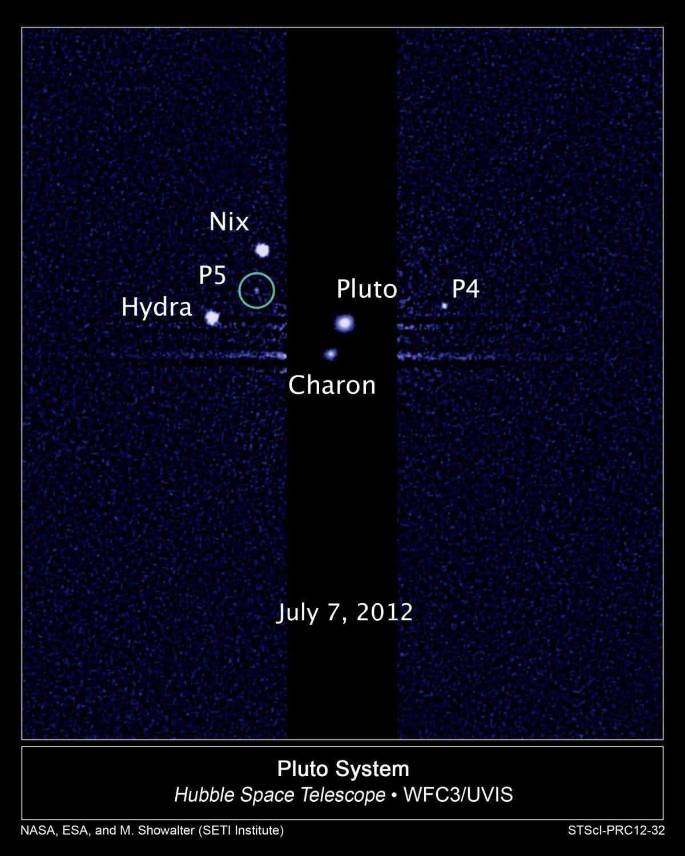 Quinta Luna en Plutón