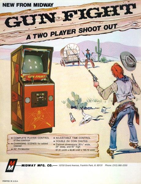 Gun Fight cartel promocional