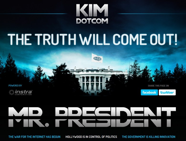 kim dotcom mr president