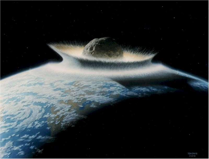 Meteorito Tierra