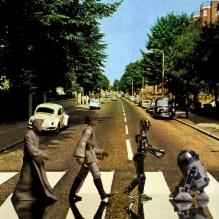 Star Wars - abbey road (ilan macmillan's 'abbey road' cover shot of the beatles)