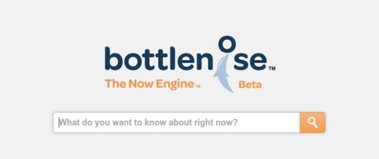 Bottlenose, buscador en tiempo real