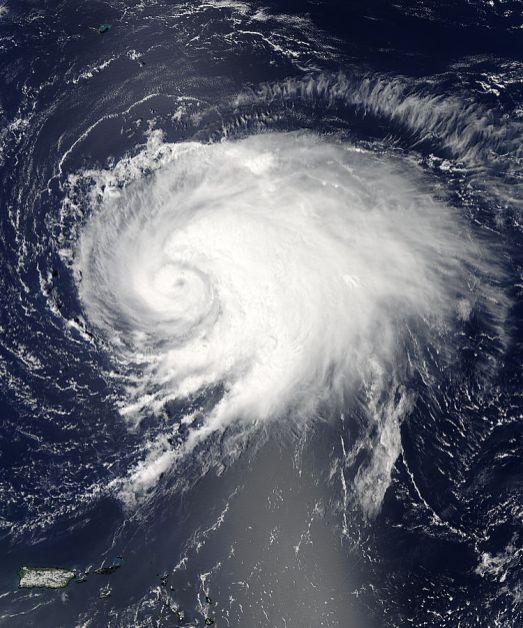 Huracan Leslie Satelite