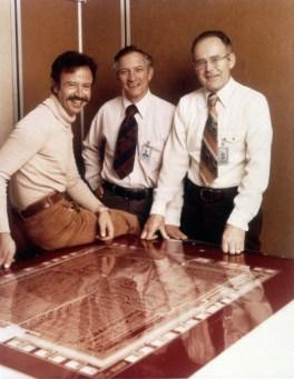 Intel Gruendungsmannschaft Andy Grove, Bob Noyce, Gordon Moore