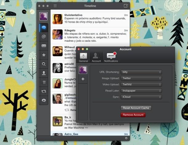 Tweetbot fue uno de los servicios que más sufrió el límite de usuarios.