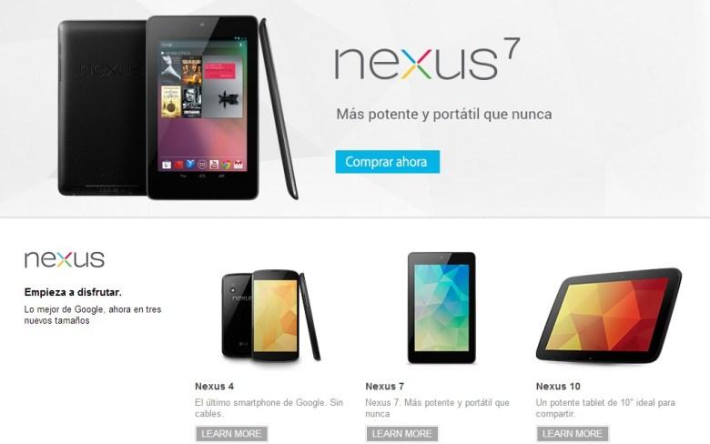 google nexus google play