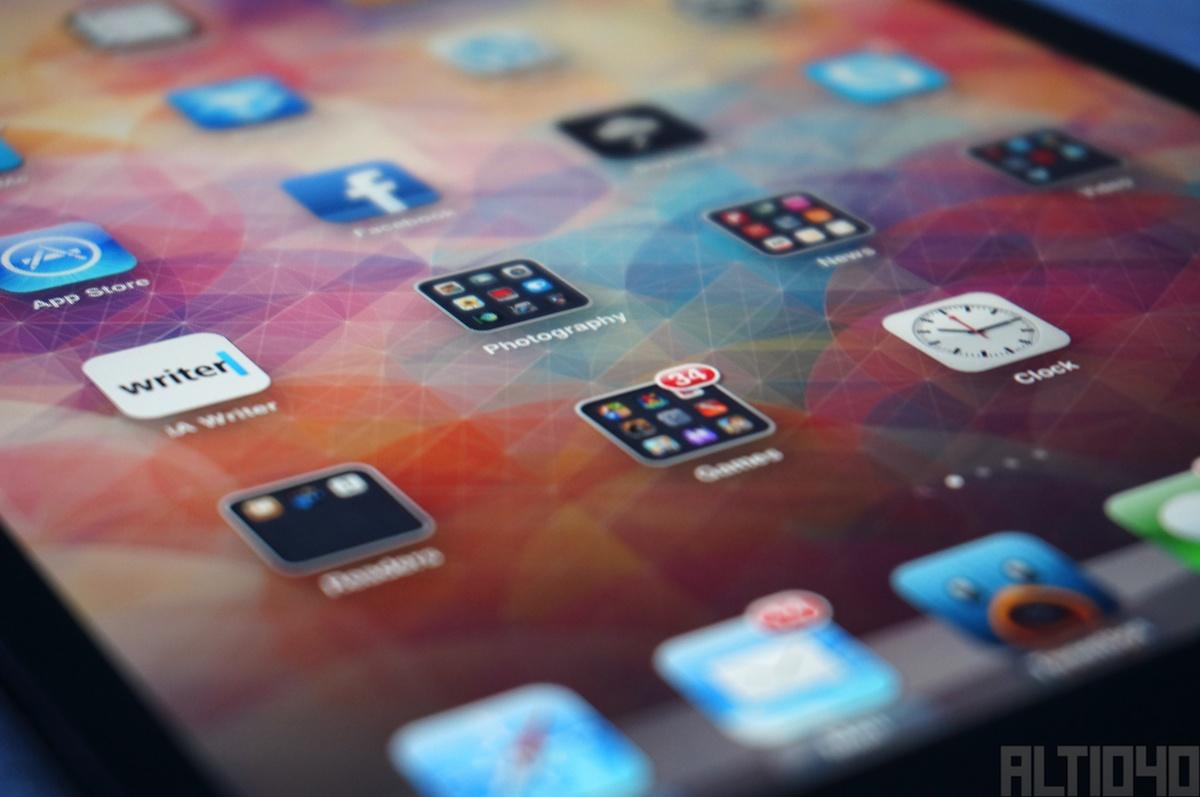 iPad mini, pantalla