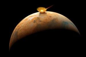 Asteroide de 1 megatón en Marte