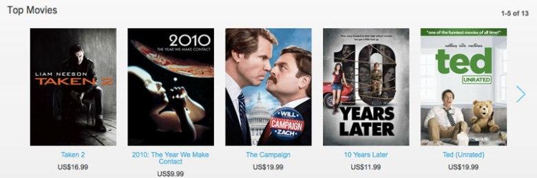 Blackberry World Web Store ya cuenta con música, películas y series