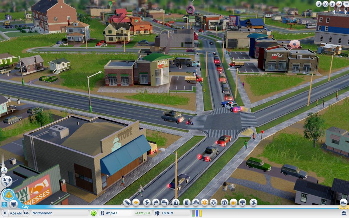 SimCity utilizado como herramienta de análisis de tránsito