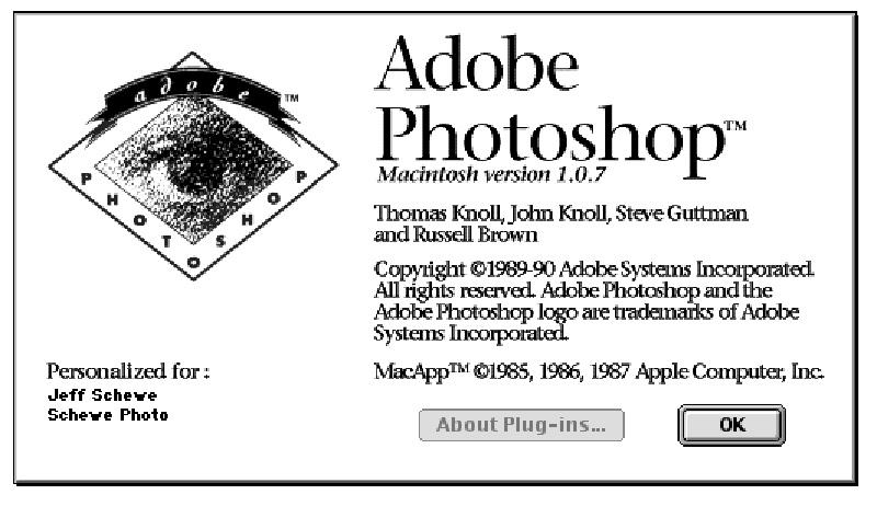 El código fuente de Photoshop 1.0.1, liberado