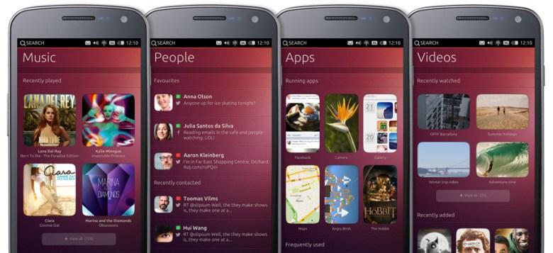 Los primeros smartphones con Ubuntu OS llegarán en octubre